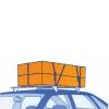 Upínací pás, typ 1001/K, jednodílný se sponou AISI 304, 25mm, LC 125daN, černý