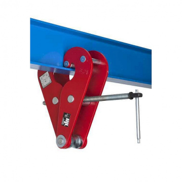 Šroubová svěrka ZZ na profily, svěrná šíře 90-370 mm nosnost 20000kg