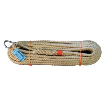 Konopné lano s hákem, od 10m do 50m, SEWOTA - Německo