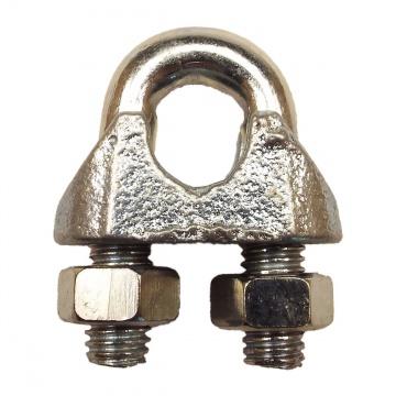 Lanová svorka DIN 741 pozink. ( není určena pro bezp. technické použití )