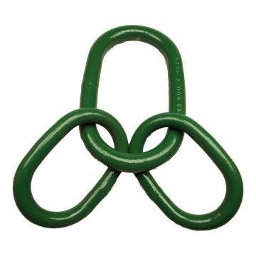 Závěsná souprava, zelená, pro 3- a 4-pramenné vazáky, třída 8
