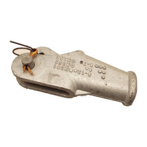 Klínová svorka, pozinkovaná - podobná DIN 43148