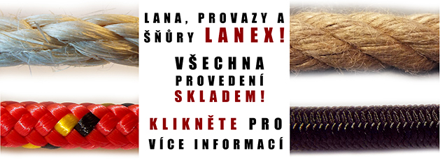 LANEX - provazy, lana a šňůry