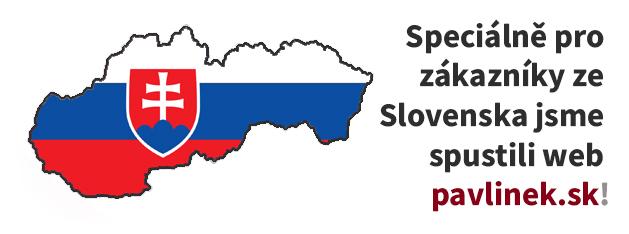 Nový slovenský eshop PAVLINEK.SK!