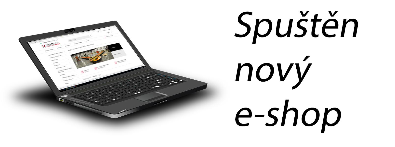 Spuštěn nový e-shop
