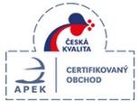 Získali jsme certifikát APEK !